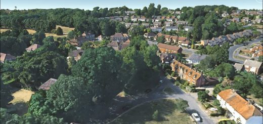 Fly Tilehurst in Google Earth